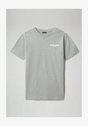 SOLE GRAPHIC - Print T-shirt - medium grey melange