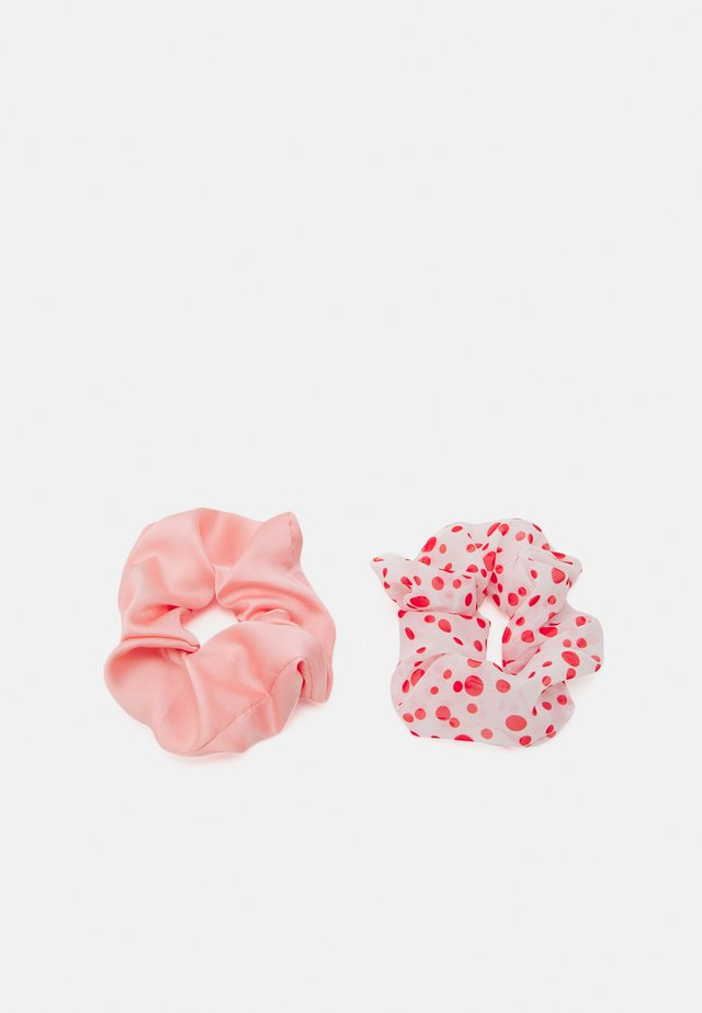 DOTTED SCRUNCHIE 2 PACK - Hair styling accessory - red love
