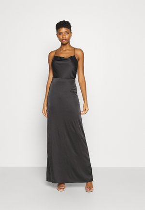 WATERFALL MERMAID GOWN - Occasion wear - black