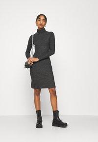 Even&Odd - Shift dress - mottled anthracite - 1