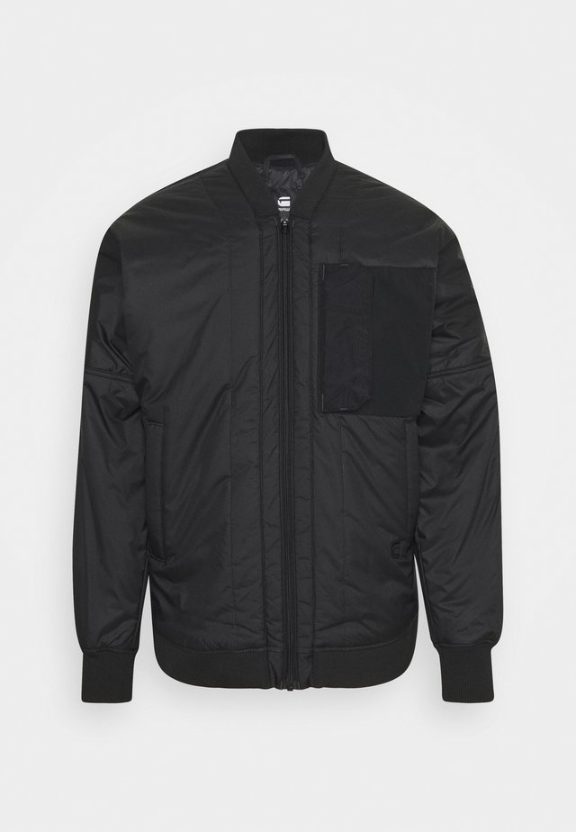 LINER - Bomber Jacket - black