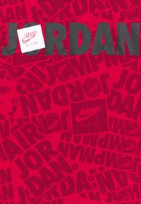 Jordan - JUMPMAN BY SPLASH TEE UNISEX - T-shirt z nadrukiem - gym red - 2