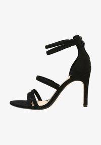 Clarks - CURTAIN STRAP - High heeled sandals - black - 1