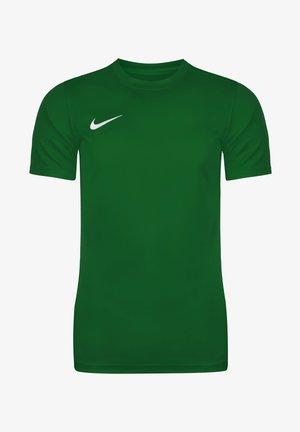 DRI-FIT PARK - Basic T-shirt - pine green / white