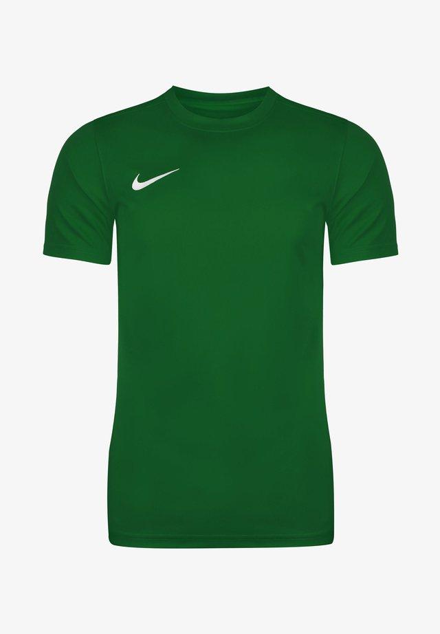 DRI-FIT PARK - T-shirt basique - pine green / white