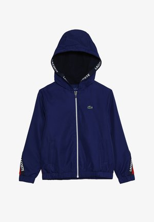 TENNIS JACKET - Veste de survêtement - ocean/red/navy blue/white