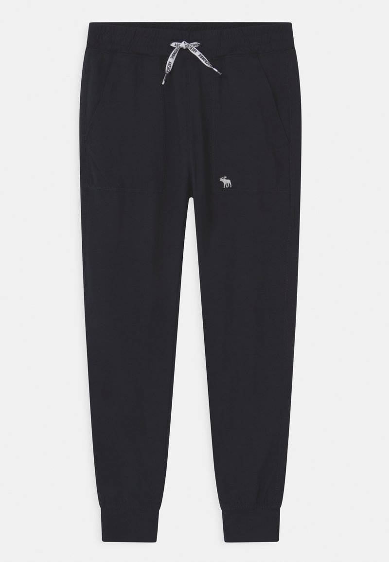 Abercrombie & Fitch - LIGHTWEIGHT - Tracksuit bottoms - black