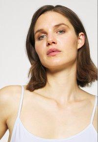 Anna Field - 3 PACK - Topper - black/white/tan - 3