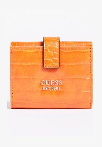 KROKOPRÄGUNG - Wallet - orange