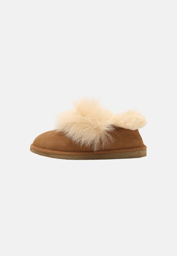 AMALIA - Boots à talons - chestnut