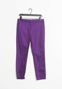 HALLHUBER - Chinos - purple - 0