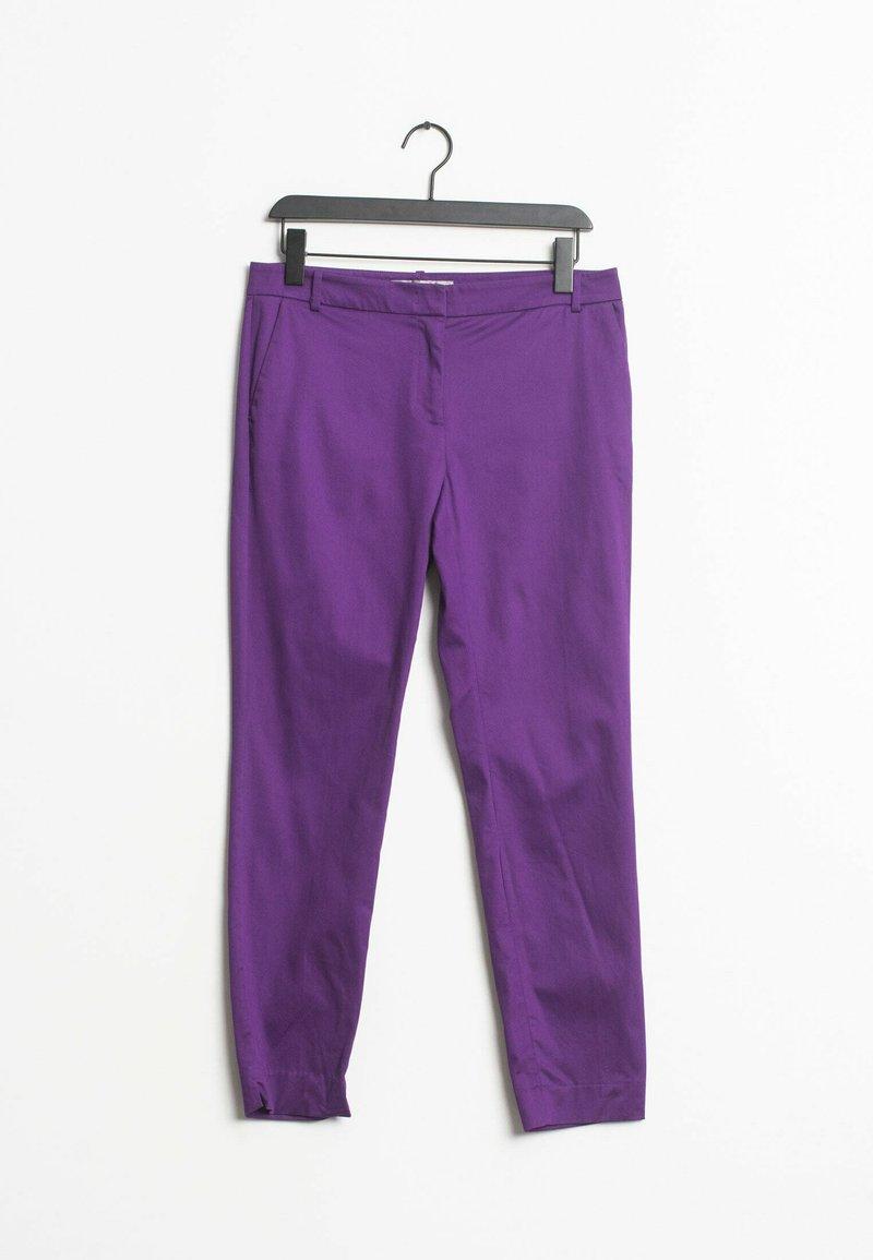HALLHUBER - Chinos - purple