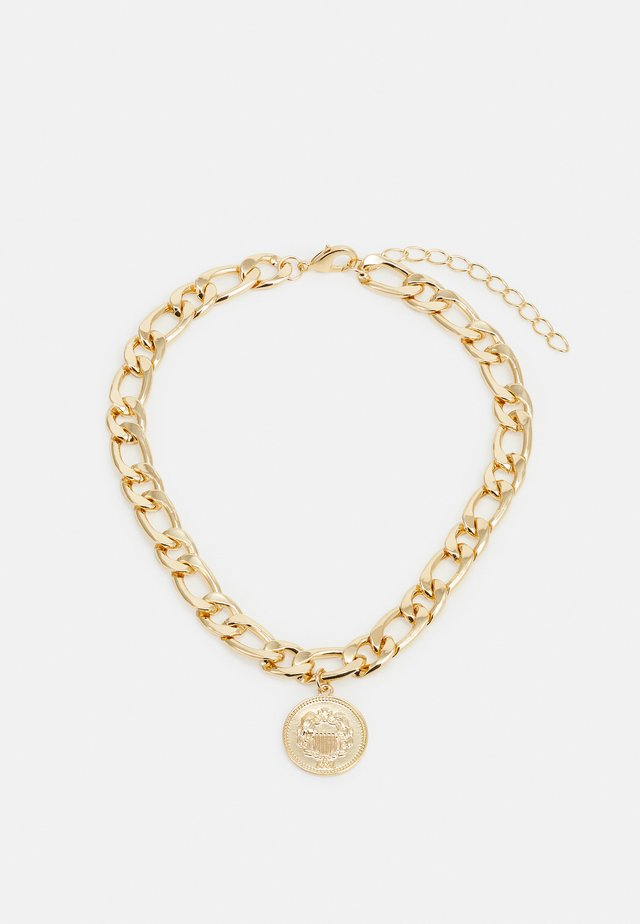 COIN NECKLACE - Collana - gold-coloured