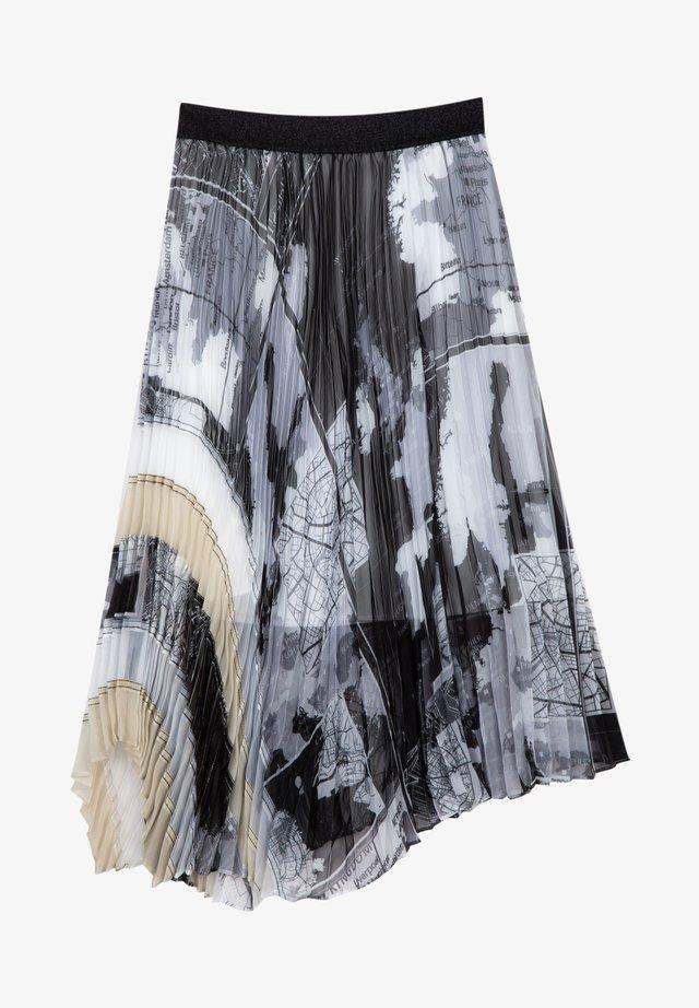 A-line skirt - dark gray