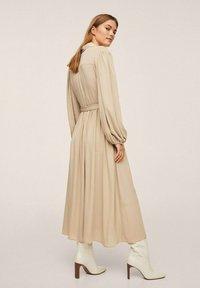 Mango - Maxi dress - lyst/pastell grå - 1