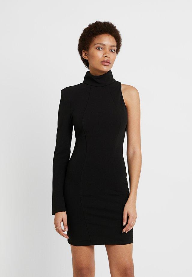 THE HEART DRESS - Sukienka etui - black
