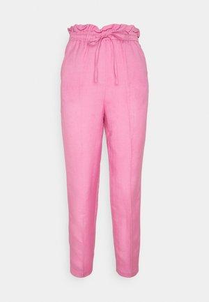 BYDORATA PANTS  - Trousers - fuchsia pink