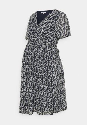 DRESS FLORA - Denní šaty - night sky