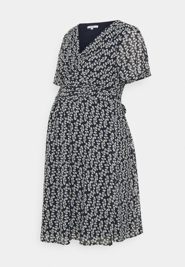 DRESS FLORA - Day dress - night sky