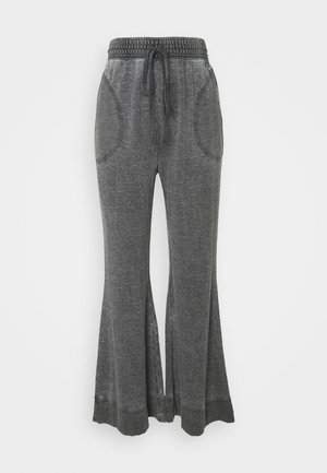 COZY COOL LOUNGE PANT - Tracksuit bottoms - washed black