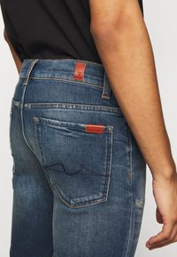7 for all mankind - RONNIE CAVALRY  - Slim fit jeans - dark blue - 4