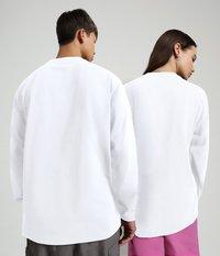 Napapijri - S-BOX LS - Long sleeved top - bright white - 4