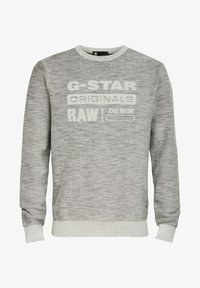 G-Star - PREMIUM CORE LOGO ROUND LONG SLEEVE - Trui - cool grey - 4