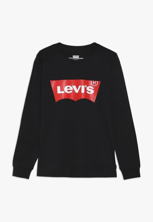 BATWING - T-shirt à manches longues - black