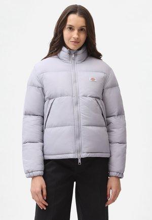 Gewatteerde jas - lilac gray