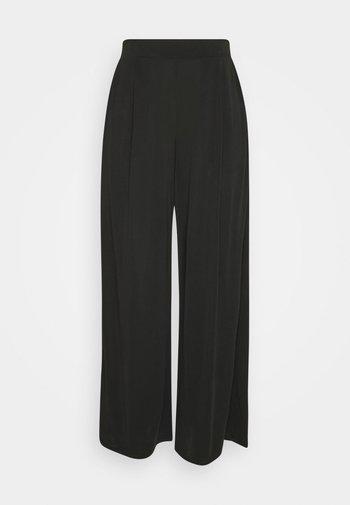VIMODELINA CROPPED PANTS  - Trousers - black