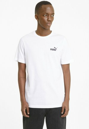 ESS SMALL LOGO TEE - Basic T-shirt -  white