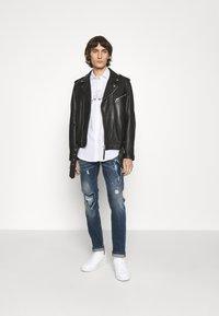 John Richmond - IDYLL - Straight leg jeans - denim blue medium - 1