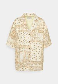 EDGAR PRINT - Button-down blouse - light yellow mix