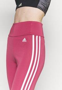 adidas Performance - Tights - wild pink/white - 3