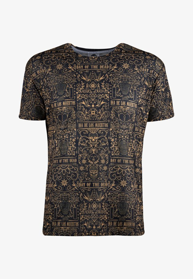 DAY OF DEAD  - T-Shirt print - black