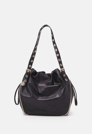 TOP HANDLES BAG - Handbag - nero/oro