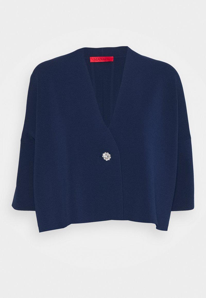MAX&Co. - PROFETA - Cardigan - navy blue