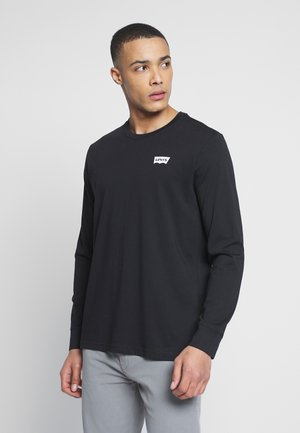RELAXED GRAPHIC TEE - Long sleeved top - mineral black