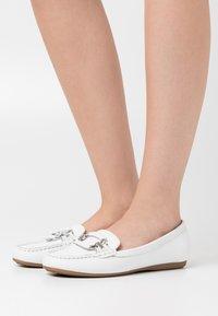 ALDO - URSEL - Loafers - white - 0