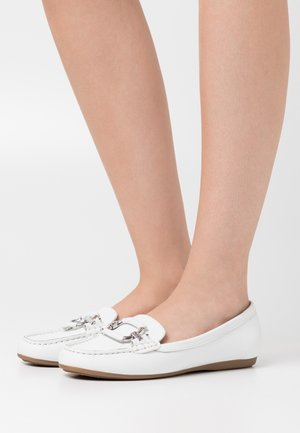 URSEL - Mocassins - white