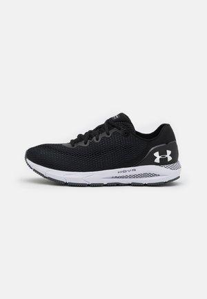 HOVR SONIC 4 - Neutral running shoes - black/white