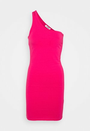 MARINA DRESS - Žerzejové šaty - hot pink