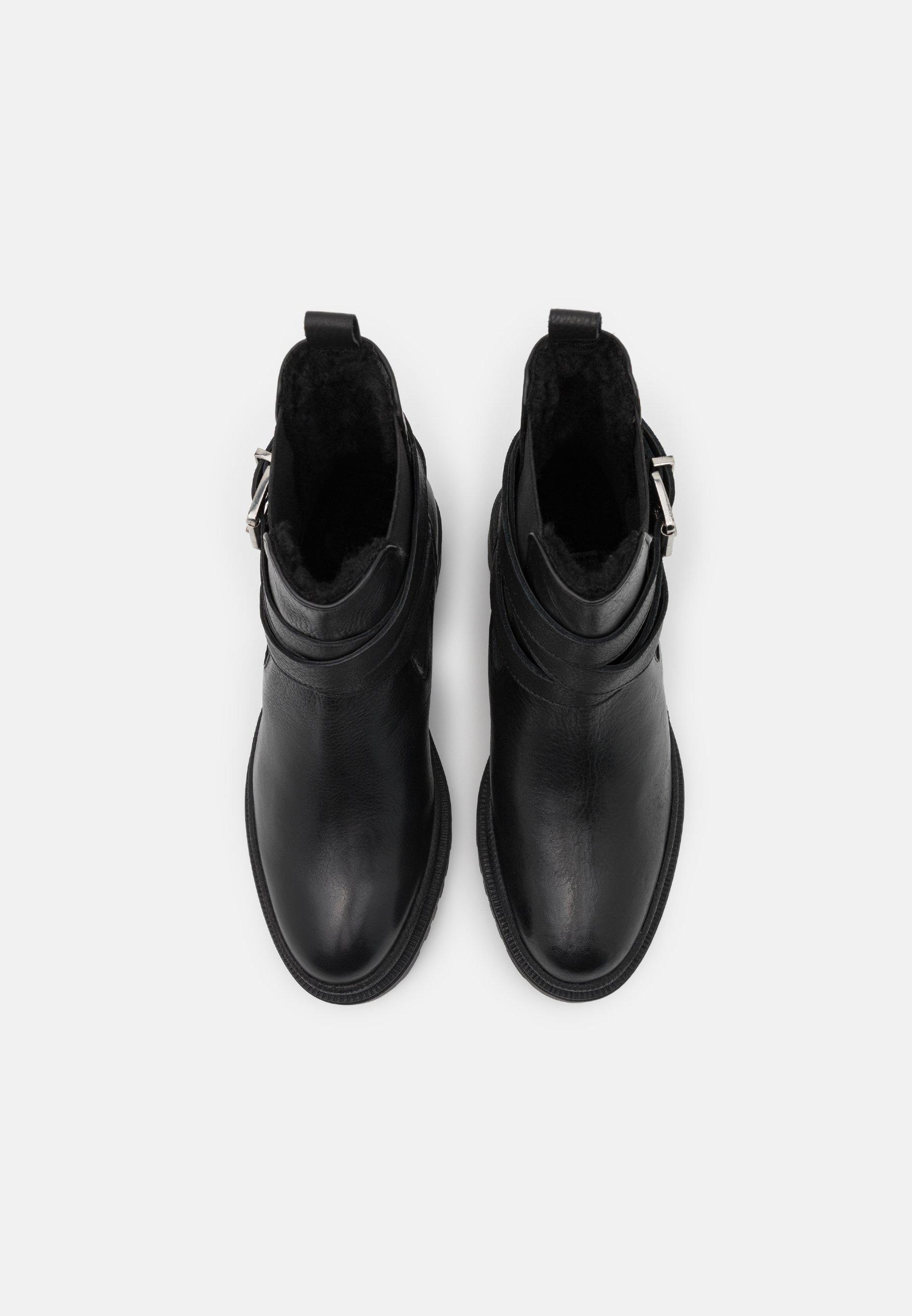 Zign Plateaustiefelette black/schwarz