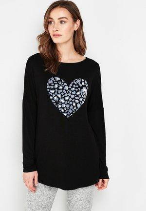 HEART - Longsleeve - black