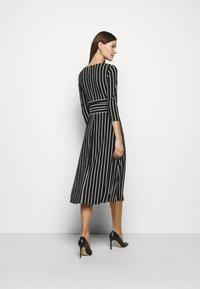 Lauren Ralph Lauren - PRINTED MATTE DRESS - Jersey dress - black - 3