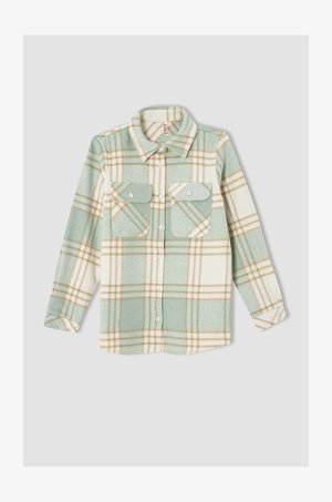 OVERSIZE FIT - Button-down blouse - green