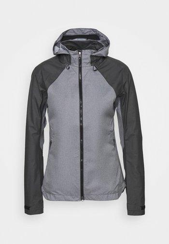 WOMEN GORE-TEX TRAIL HOODED JACKET - Hardshell jacket - terra grey