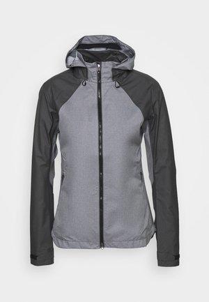 DAMEN TRAIL - Hardshell jacket - terra grey