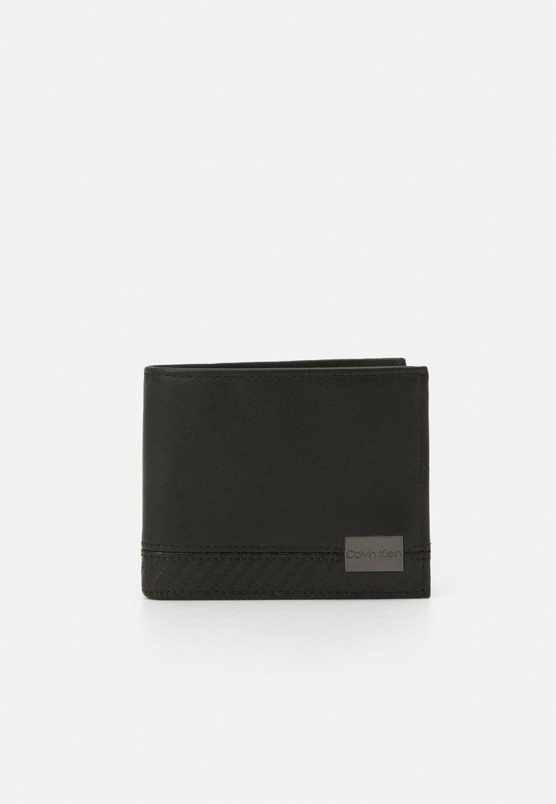 Calvin Klein - BIFOLD BILL - Plånbok - black