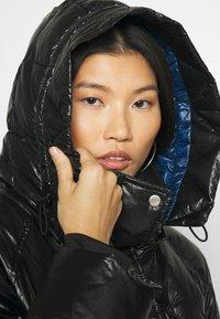 GAP - LONG PUFFER COAT - Winter coat - true black - 4
